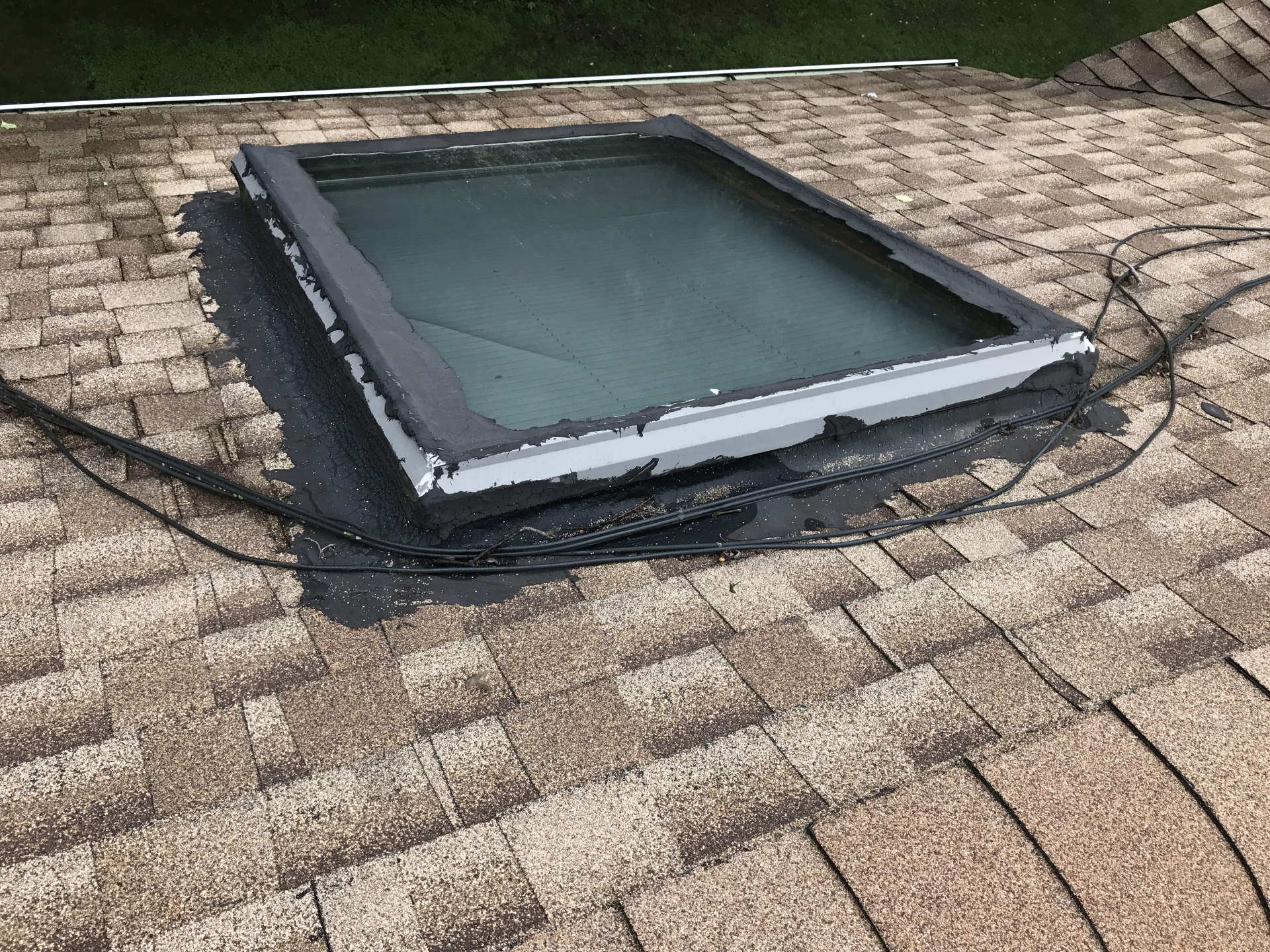 Red Flag Skylight repair